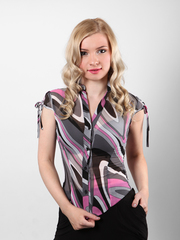 3461 блузка женская, цветная