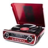 Проигрыватель Винила ION Audio Mustang LP Bordo