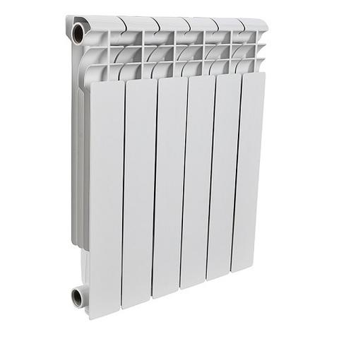 Радиатор алюминиевый секционный ROMMER Plus 500 - 6 секций