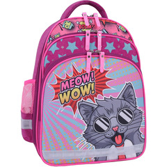 Рюкзак школьный Bagland Mouse 143 малиновый 510 (0051370)