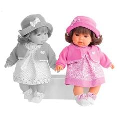 Munecas Antonio Juan Озвученая кукла Памела в розовом, 37 см (1555P)