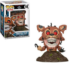 Funko Figurine Five Nights At Freddys Twisted Foxy Pop 10cm 3.75inch Figure New