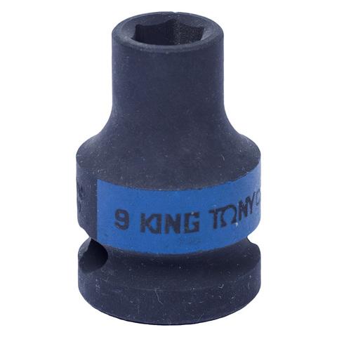 KING TONY (453509M) Головка торцевая ударная шестигранная 1/2