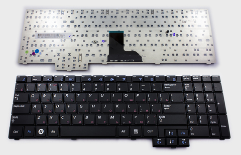 Клавиатура для ноутбука Samsung R519 R523 R525 R528 R530 R538 R540 P580 R610 R618 R620 R717 R728 RV508 RV510 Series