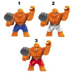 Minifigures Super Heroes Fantastic Four Thing Blocks Building