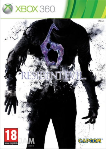 Xbox 360 Resident Evil 6 (русские субтитры)