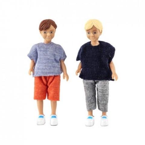 Игровой набор Lundby Два мальчика 60806500