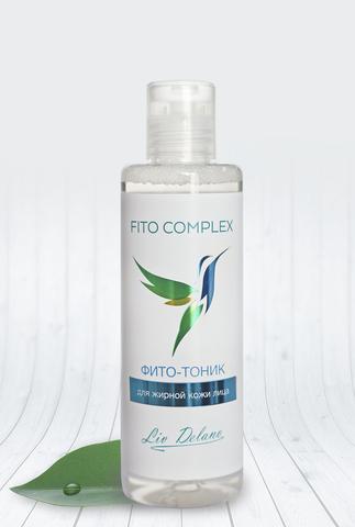 Liv delano Fito Complex Фито-тоник для жирной кожи лица 200мл