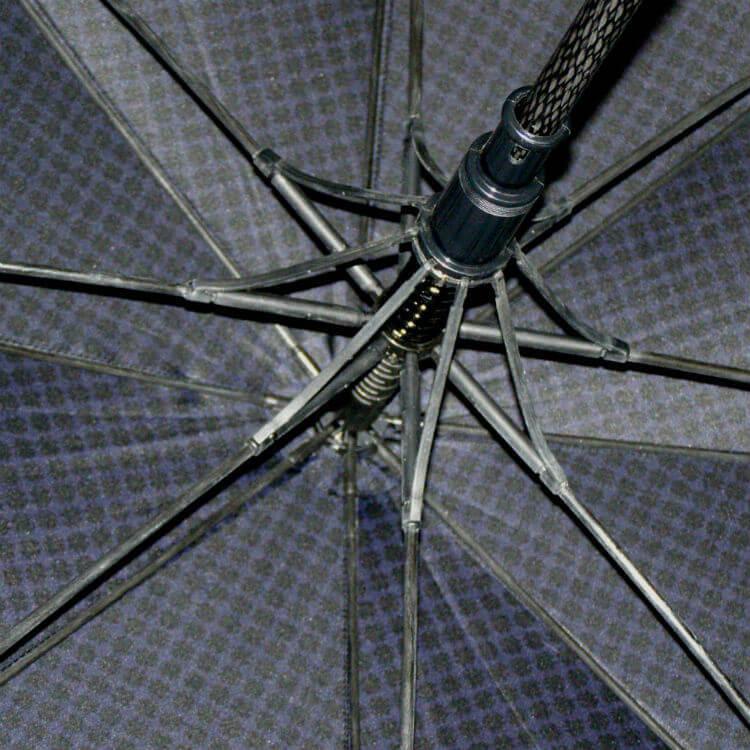 Зонт-трость Maison Perletti 16228-blue-Geometric design