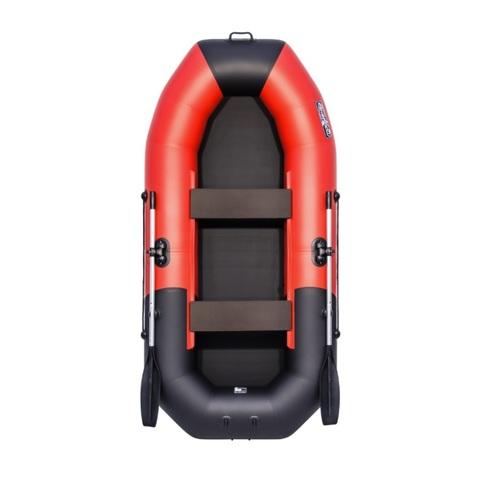 Лодка ПВХ Таймень NX 270 комби красный/черный