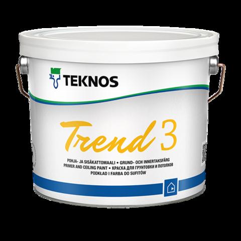 TEKNOS TREND 3/Текнос Тренд 3 Матовая акрилатная краска