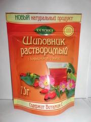 Шиповник с боярышником и мятой 75г (Халсика)