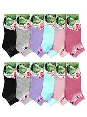 391 носки женские цветные 36-42 (12шт)