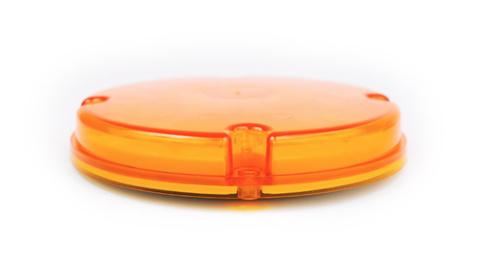 Светодиодная фара для грузовых автомашин и спец техники (желтая)