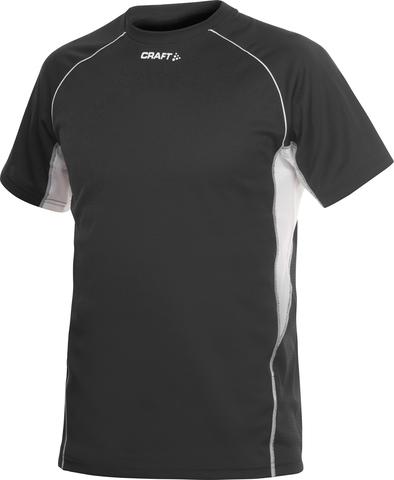 Футболка Craft Track and Field мужская черная распродажа