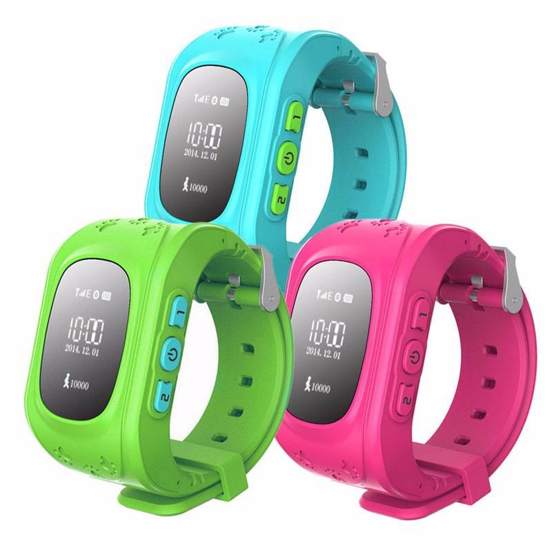 Детские часы с GPS трекером Smart Baby Watch
