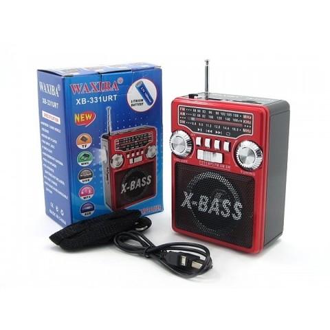 Радиоприемник XB-331 URT MP3/FM/MicroSD/USB (3xAA)