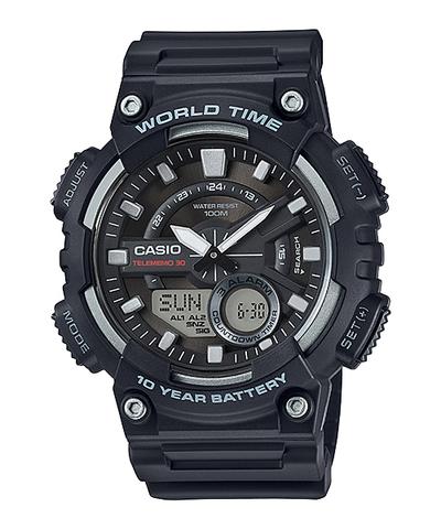 Купить Мужские электронные часы Casio AEQ-110W-1AVDF по доступной цене