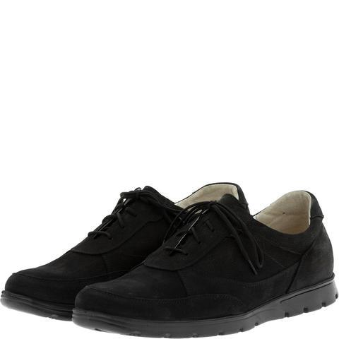 587385 полуботинки мужские черный нубук. КупиРазмер — обувь больших размеров марки Делфино