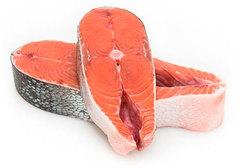 Кета стейк замороженный Премиум~500г