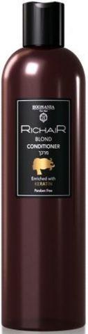 Кондиционер для обесцвеченных и осветлённых волос с Кератином, Richair Egomania,400 мл.