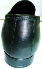 Кожаные туфли мужские лоферы черные Mariner классические