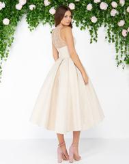 Mac Duggal 79177D платье до щиколотки, лиф украшен камнями, юбка пышная с кармашками