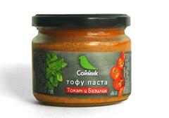 Тофу паста с томатом и базиликом, 300г