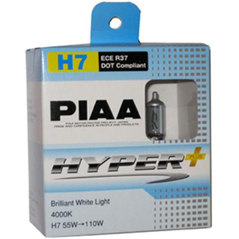 Галогенные лампы PIAA H7 HE-833 (4000K) Hyper Plus