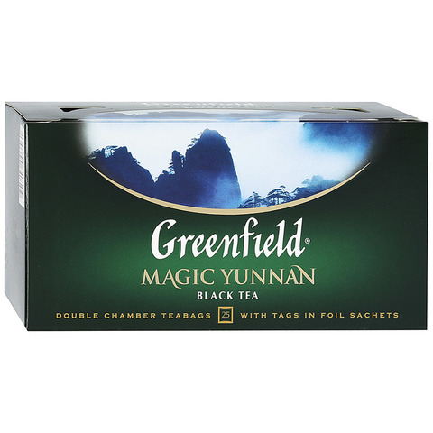 "Чай чёрный ""Greenfield"" Magic Yunnan 25*1,5г"