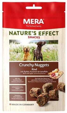 Mera NATURE'S EFFECT Snack Crunchy Nuggets Rind Mit Äpfeln, Karotten & Kartoffeln
