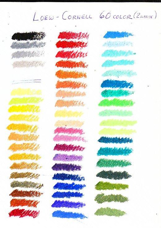 Пастель 59 цветов