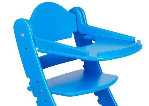 Столик для растущего стула Два кота Синий