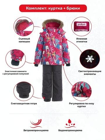 Особенности зимнего комплекта Premont Лапочки Зайчики
