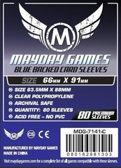 Протекторы Mayday: 66*91мм (Blue Backed) (80)