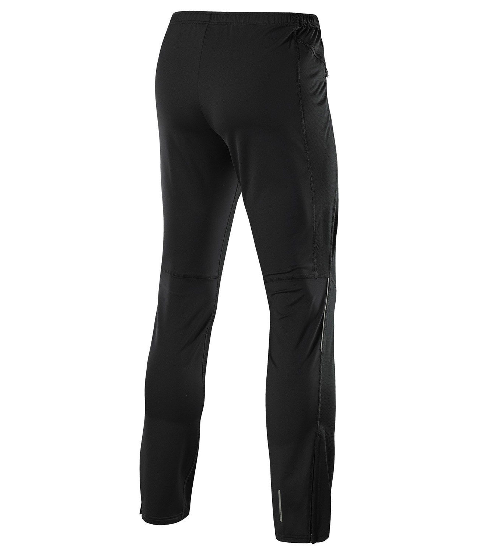 Мужские беговые брюки Mizuno Breath Thermo Wind Pants (J2GD4502 09) фото