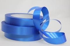 Лента простая (2см*50м) Гладкая без тиснения/Синий