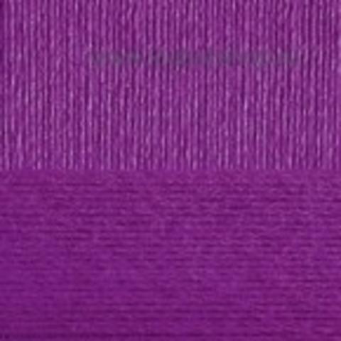 Пряжа Вискоза натуральная Пехорский текстиль Фиолетовый 78