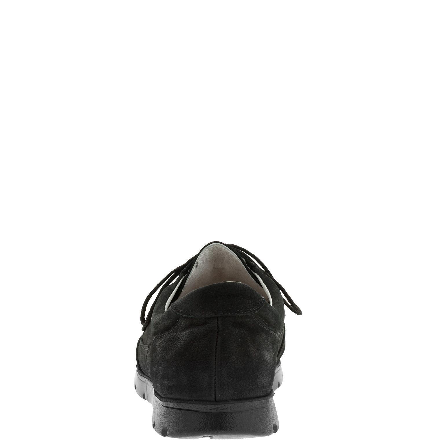 587385 полуботинки мужские черный нубук больших размеров марки Делфино