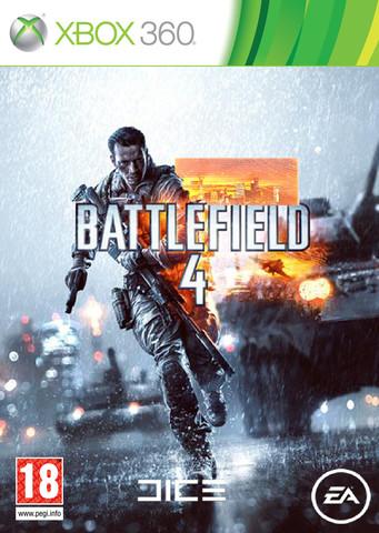 Xbox 360 Battlefield 4 (русская версия)