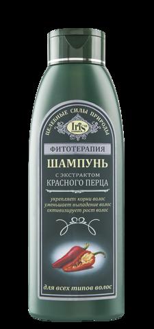 Iris Фитотерапия Шампунь с экстрактом красного перца 500 мл