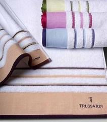 Набор полотенец 2 шт Trussardi Funny ваниль