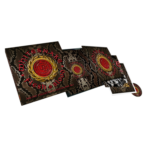 Whitesnake / Flesh & Blood (Super Deluxe Edition)(2LP+CD+DVD)
