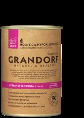 Grandorf Buffalo & Veal консервы для собак Буйвол и Телятина