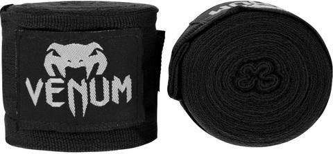 Бинты для ММА Venum Kontact 2,5m - Black