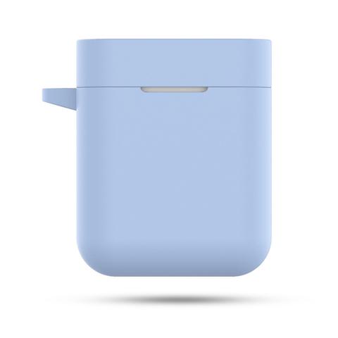 Чехол на Xiaomi Airdots Pro силиконовый (синий)
