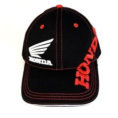 Кепка с вышитым логотипом Хонда (Кепка Honda) черная