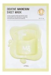 Тканевая маска для лица с магнием Cicative Magnesium Sheet Mask 22мл