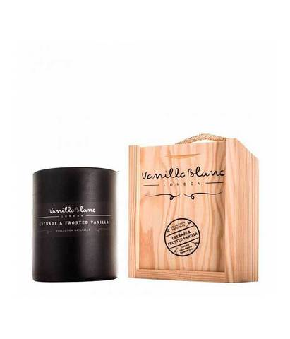 Свеча ароматическая Гранат и ванильная пудра, Vanilla Blanc
