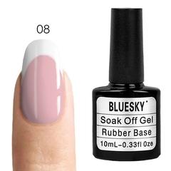 Bluesky, Rubber Base Cover Pink - каучуковая камуфлирующая база № 08, 10 мл